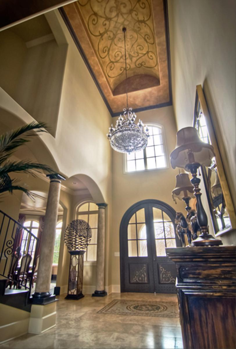 Brentwood, TN., Governors Club customer's stunning entryway makeover.