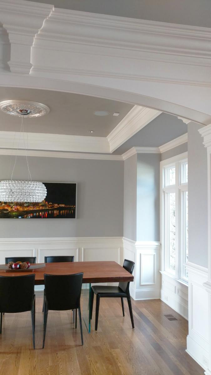 metallic ceiling design