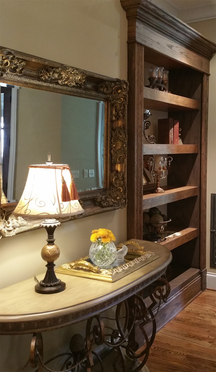 Interior painting custom color for room balance