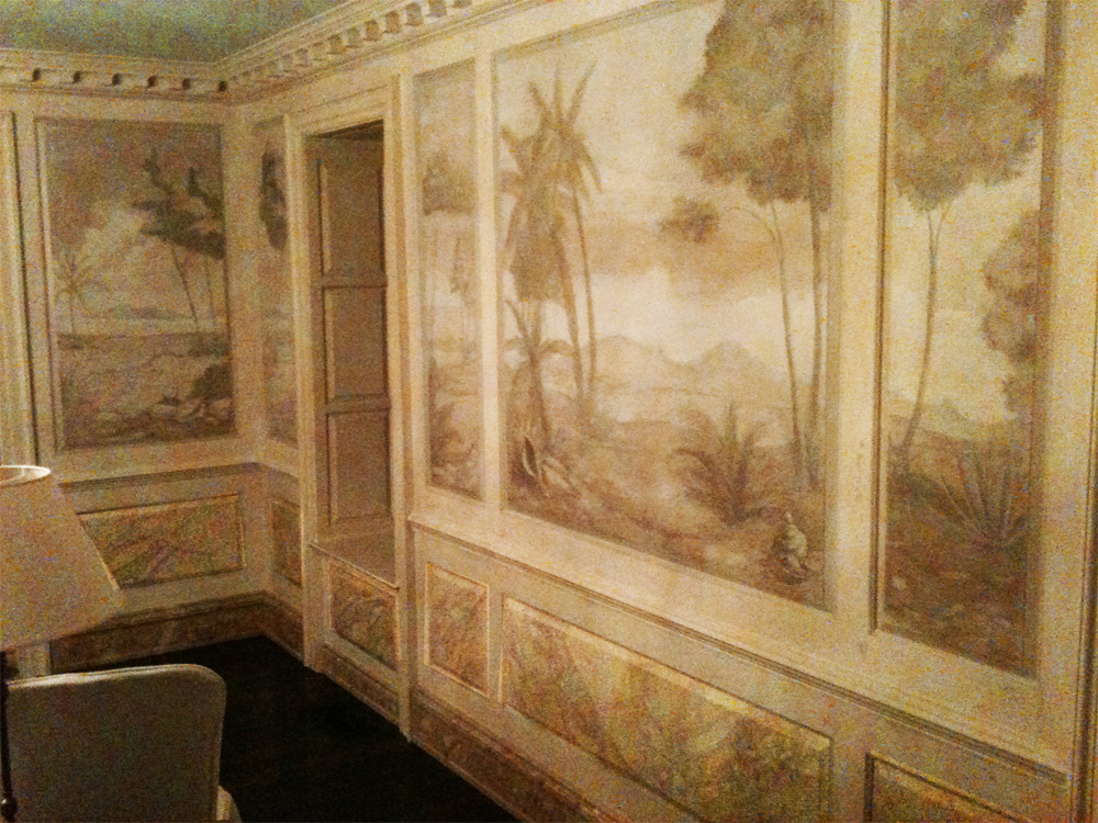 Stunning tone on tone hand painted glaze patterns, murals, wood grains and marbleized designs.  From one of our team members Master Artisan Drew - proud member partner of United Artisans.