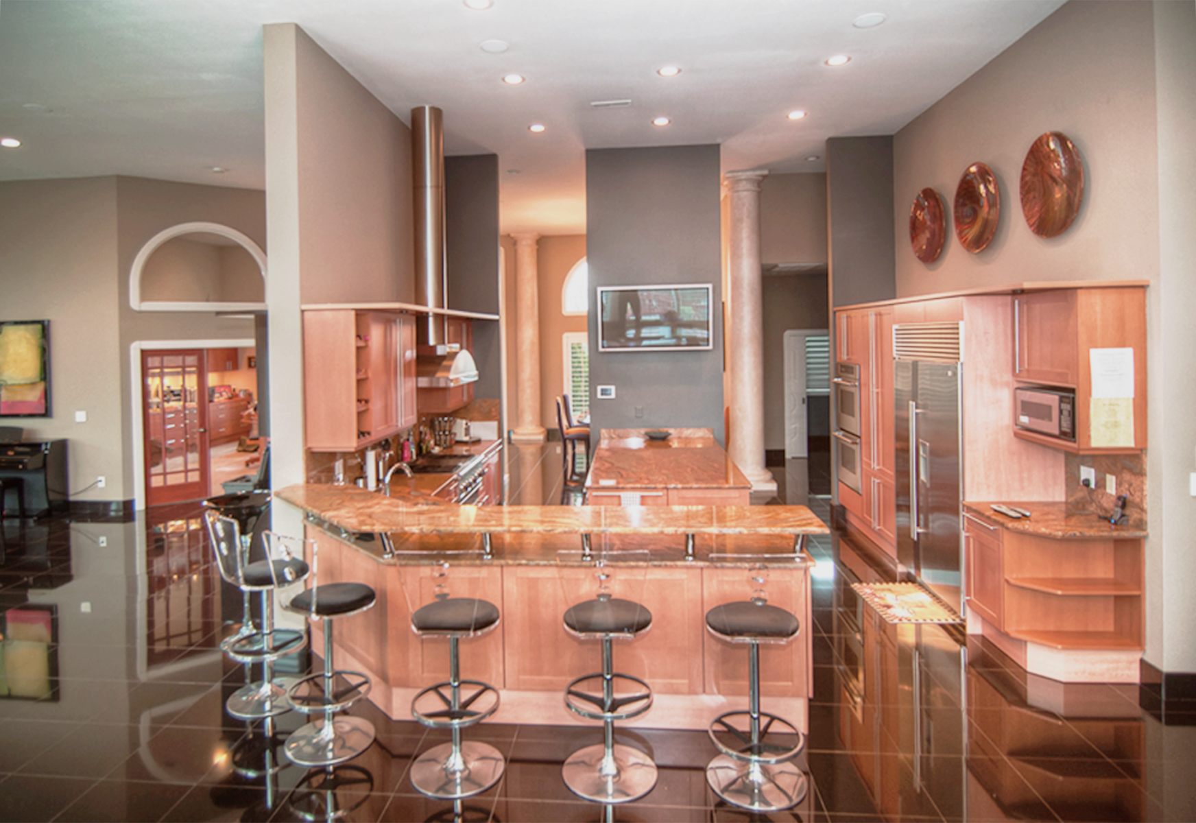 Modern paint colors warm any space.