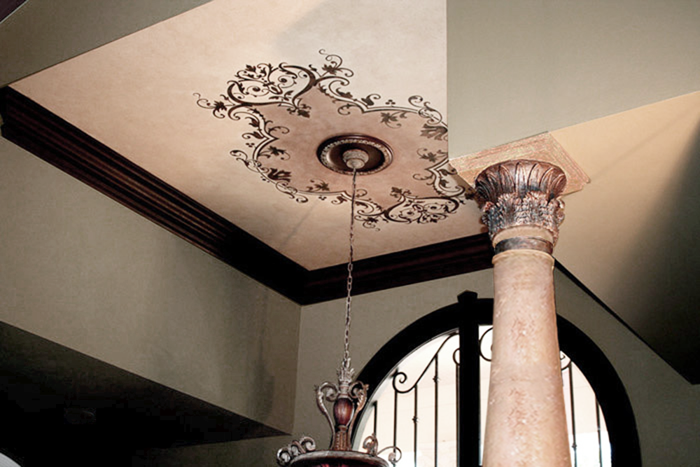 In Our Ceiling Gallery - Custom ceiling finish Ideas.